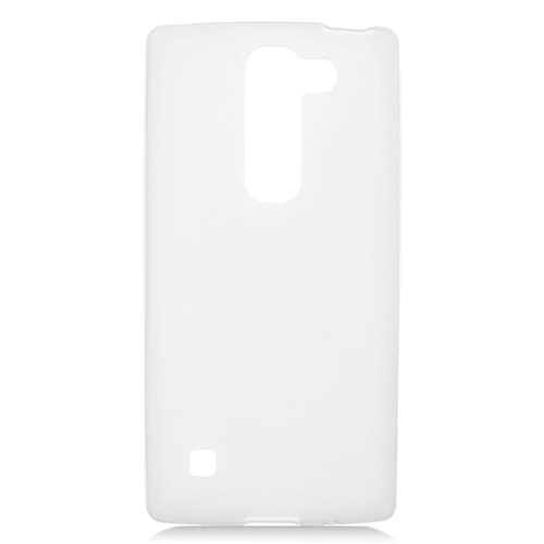 Insten TPU Rubber Candy Skin Case Cover Compatible With LG Escape 2 H443 / H445, White
