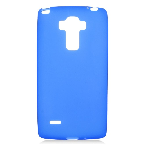 Insten TPU Rubber Candy Skin Case Cover Compatible With LG G Stylo LS770/G Vista 2, Blue