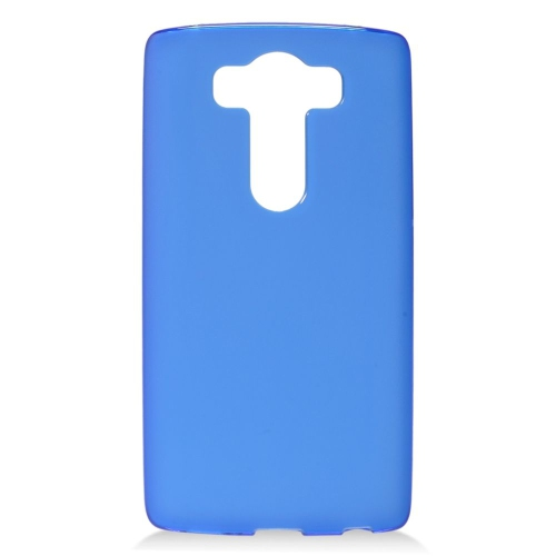 Insten TPU Rubber Candy Skin Case Cover Compatible With LG V10, Blue