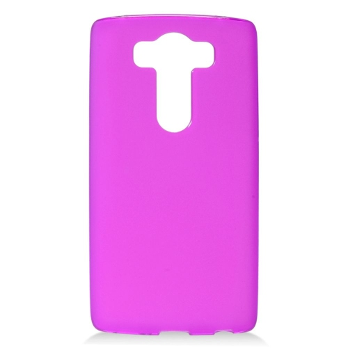 Insten TPU Rubber Candy Skin Case Cover Compatible With LG V10, Hot Pink