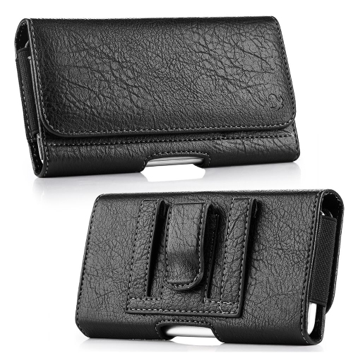 Insten Folio Flip Leather Wallet Belt Clip Case For HTC One M7,Samsung Galaxy S6 SM-G920/S7, Black