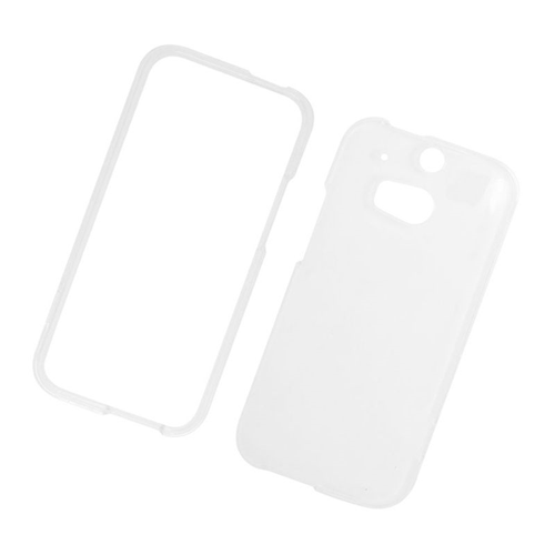 Insten Crystal Hard Snap-in Case Cover Compatible With HTC One M8, Clear