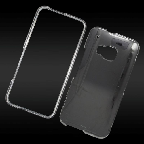 Insten Crystal Hard Snap-in Case Cover Compatible With HTC One M9, Clear