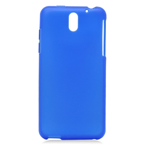 Insten TPU Rubber Candy Skin Case Cover Compatible With HTC Desire 610/612 Verizon, Blue