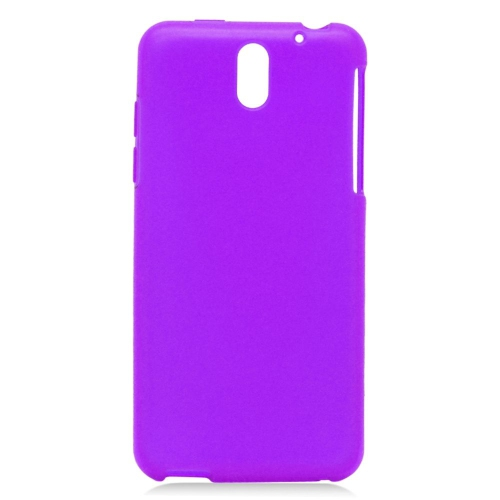 Insten TPU Rubber Candy Skin Case Cover Compatible With HTC Desire 610/612 Verizon, Purple