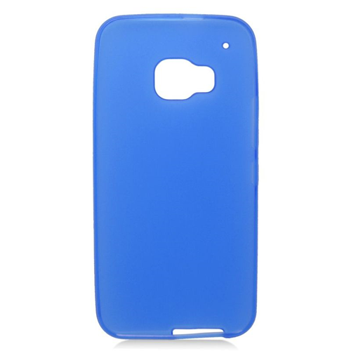 Insten TPU Rubber Candy Skin Case Cover Compatible With HTC One M9, Blue