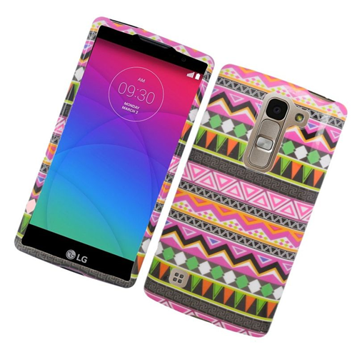 Insten Elegant Tribal Rubberized Hard Snap-in Case For LG Escape 2 H443 / H445, Colorful