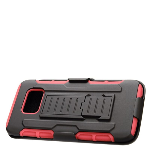 Insten Holster Case for Samsung Galaxy S7 Edge - Black;Red