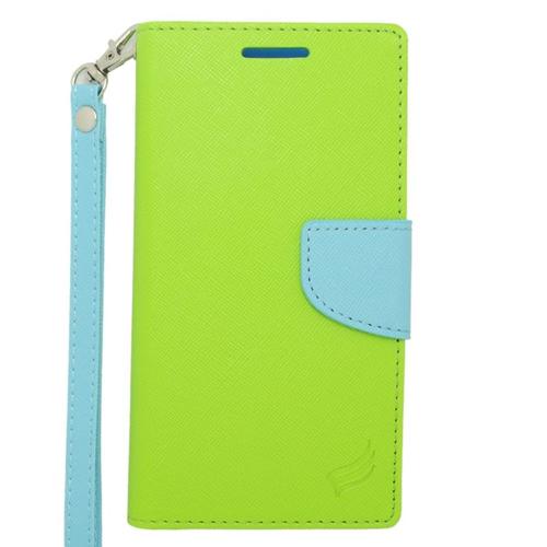 Insten Folio Case for HTC Desire 610 - Green;Light Blue