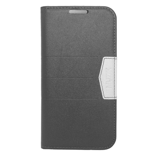 Insten Folio Flip Leather Wallet Flap Pouch Case Cover Compatible With HTC One M8, Black