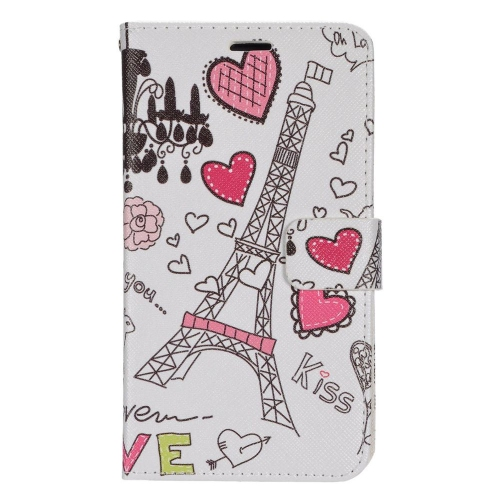 Insten Hearts Stand Folio Flip Leather Wallet Flap Pouch Case For LG G Stylo LS770, Colorful