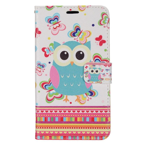 Insten Butterfly Stand Folio Flip Leather Wallet Flap Pouch Case For LG G Stylo LS770, Colorful