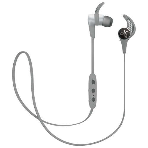 jaybird x3 in ear bluetooth headphones platinum only at best buy earbuds in ear. Black Bedroom Furniture Sets. Home Design Ideas