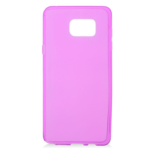 Insten TPU Rubber Candy Skin Case Cover Compatible With Samsung Galaxy Note 5, Hot Pink