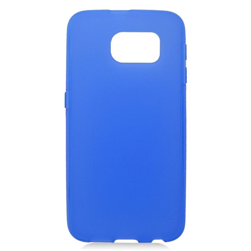 Insten TPU Rubber Candy Skin Case Cover Compatible With Samsung Galaxy S6 SM-G920, Blue