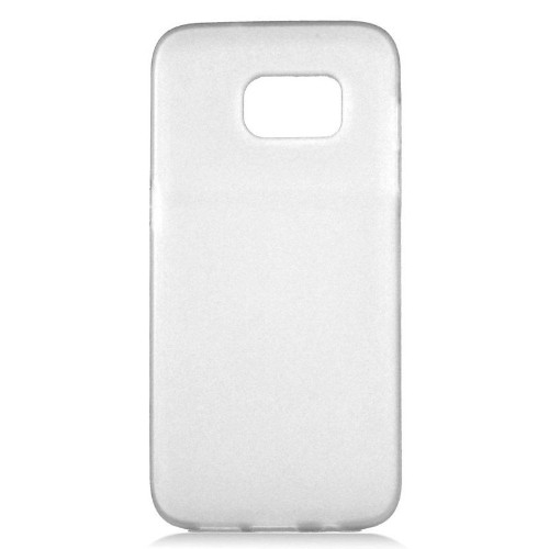 Insten TPU Rubber Candy Skin Case Cover Compatible With Samsung Galaxy S7, White