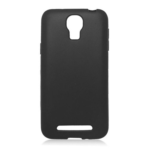 Insten TPU Rubber Candy Skin Case Cover Compatible With Samsung ATIV SE W750V Huron, Black
