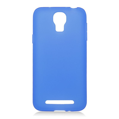 Insten TPU Rubber Candy Skin Case Cover Compatible With Samsung ATIV SE W750V Huron, Blue