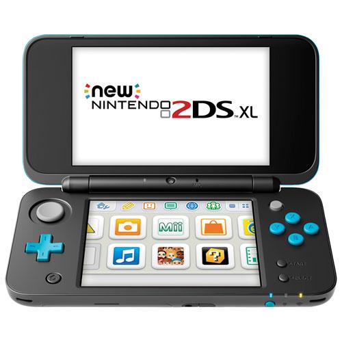 New Nintendo 2DS XL - Noir et turquoise