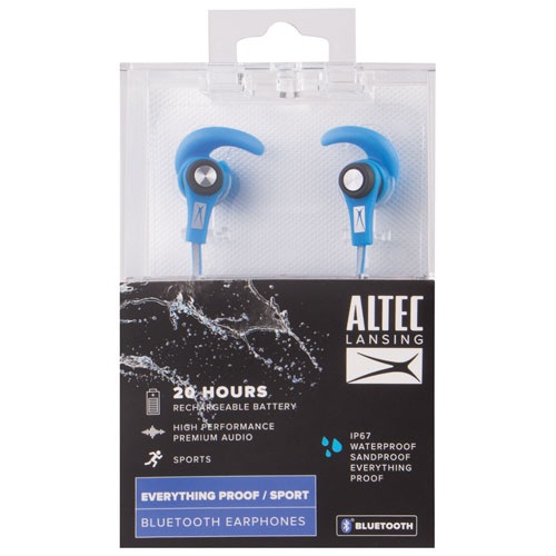 9dbef3c45fc Altec Lansing MZX856 In-Ear Bluetooth Sport Headphones - Blue - Only at  Best Buy   Best Buy Canada