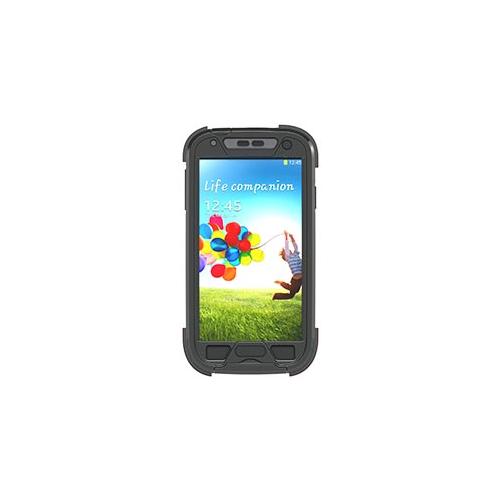 Samsung Galaxy S4 Dog & Bone Blackest Black Wetsuit case