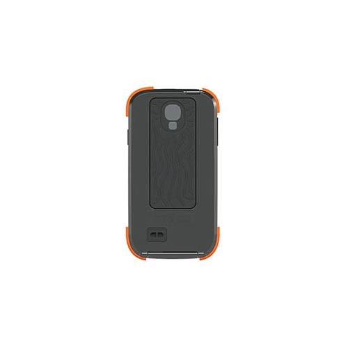 Samsung Galaxy S4 Dog & Bone Electric Orange Wetsuit case