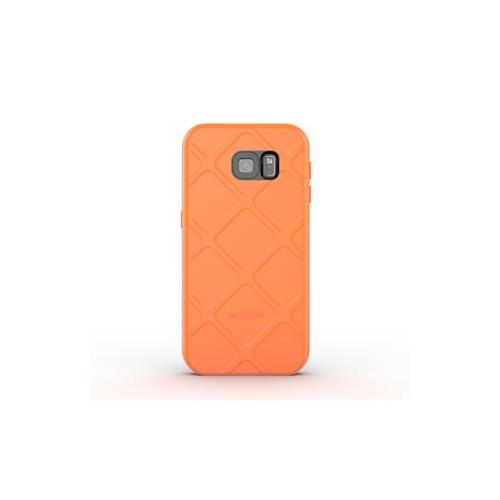 Samsung Galaxy S6 Dog & Bone Electric Orange Wetsuit Impact case