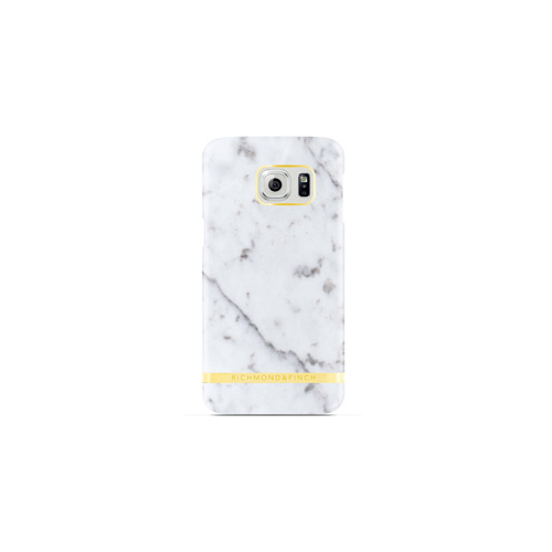 Samsung Galaxy S6 Richmond & Finch White (Carrara) Marble Glossy Case