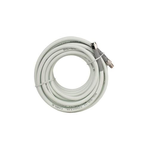 Wilson 20 ft. RG58 Low Loss Foam Coax Cable (SMA Male - SMA Female) - White
