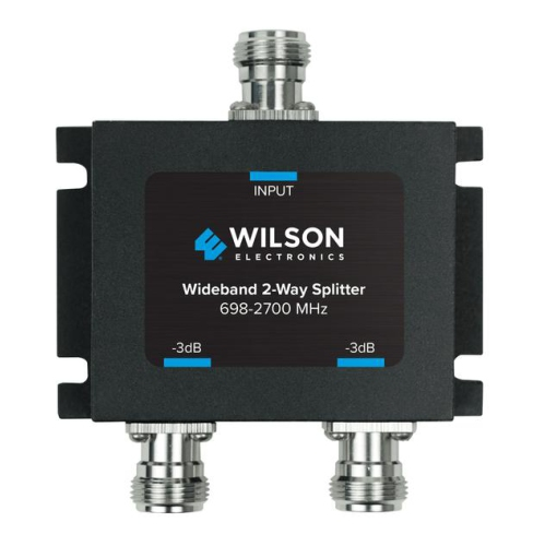 Wilson 2 Way splitter for 700-2400 MHz w/ N female connectors