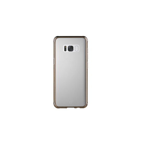 Samsung Galaxy S8 Xqisit Clear/Grey iPlate Odet case