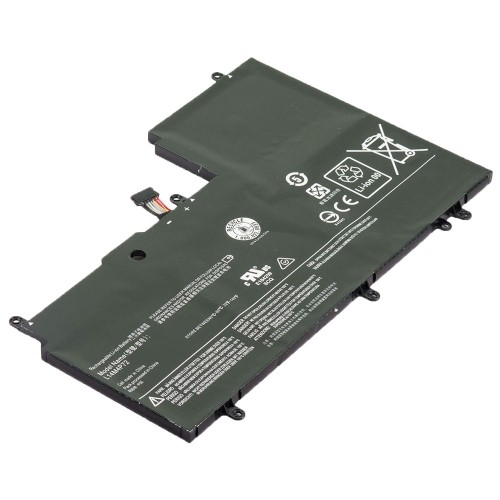 Laptop Battery Replacement for Lenovo Yoga 3 1470 80JH0000CF, L14M4P72, L14S4P72 (7.4V 6280mAh 45Wh)