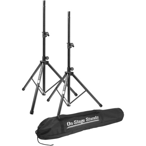 On-Stage Stands SSP7900 Aluminum Speaker Stand Pak