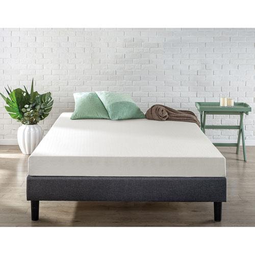 zinus green tea memory foam mattress queen mattresses best buy canada