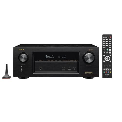 Denon AVR-X2400H 7.2 In-Command Receiver with HEOS Technology