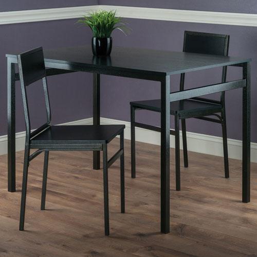 My Best Buy Dining: Milton Transitional 3-Piece Dining Set
