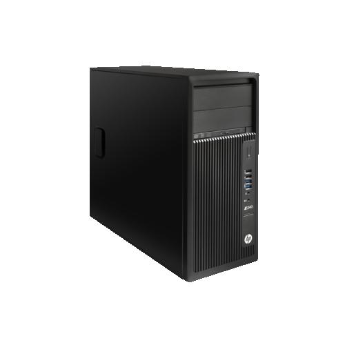 HP Workstation Z240 Tower (Intel Core i7-6700 / 1TB HDD / 16GB RAM / Intel HD Graphics 530 / Windows 10) - (T4N77UT#ABA)