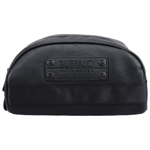 416950bab4eb Buffalo Mike Toiletry Bag - Black   Cosmetic   Toiletry Bags - Best ...