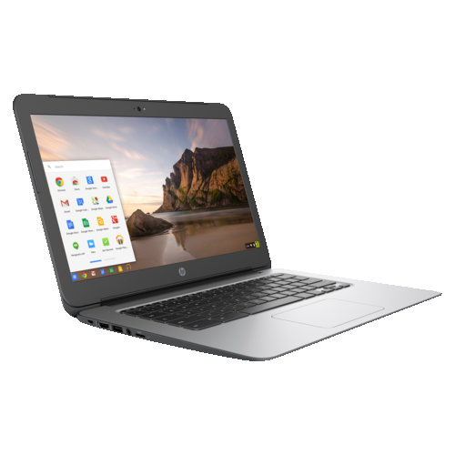 "HP Chromebook g4 14"" Chromebook silver(Intel Celeron / 16 GB SSD / 4 GB / Chrome OS)"
