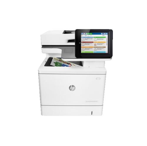 HP LaserJet Enterprise MFP M577dn Colour Wired All-In-One Laser Printer - (B5L46A#BGJ)