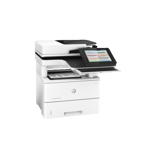 HP LaserJet Enterprise Flow MFP M527z Monochrome Wired All-In-One Laser Printer - (F2A78A#BGJ)