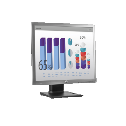 "HP 18.9"" SXGA 60 Hz 8 ms GTG LED Monitor - Silver - (E4U30A8#ABA)"