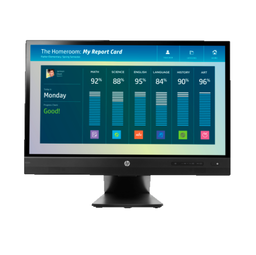 "HP 21.5"" FHD 60 Hz 8 ms GTG LED Monitor - Black - (L4Q76A8#ABA)"
