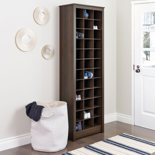 shoe storage furniture for entryway. 36cubby shoe storage cabinet espresso furniture for entryway
