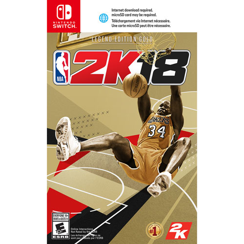NBA 2K18 Legend Edition Gold (Switch)
