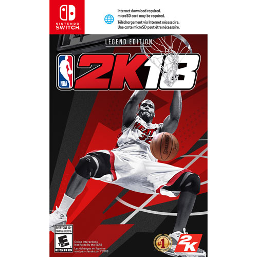 NBA 2K18 Legend Edition (Switch)