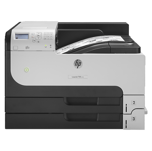 HP LaserJet Enterprise 700 M712dn Monochrome Wired All-In-One Laser Printer - (CF236A#BGJ)
