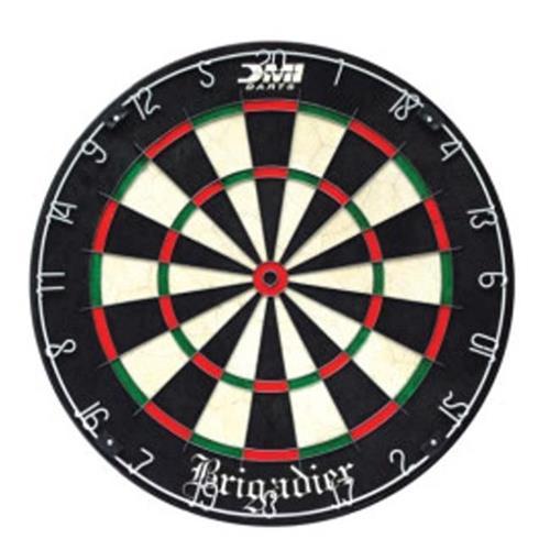 Nodor 60012 Brigadier Staple Free Bristle Dartboard Sports And
