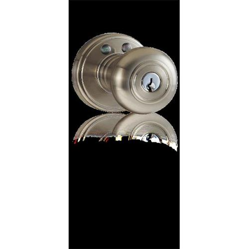 Morning Industry RKK-01OB Keyless Door Knob Lock with RF Remote Control Electronic Entry Oil Rubbed Bronze
