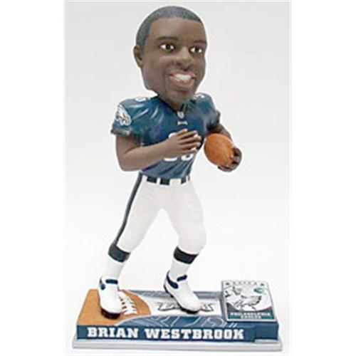 pretty nice ec785 85573 Philadelphia Eagles Brian Westbrook Forever Collectibles On Field Bobble  Head